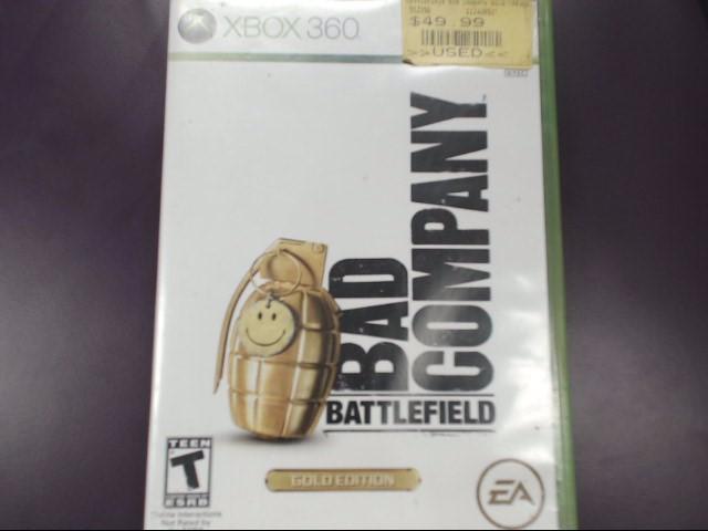 Battlefield: Bad Company -- Gold Edition (Microsoft Xbox 360, 2008)