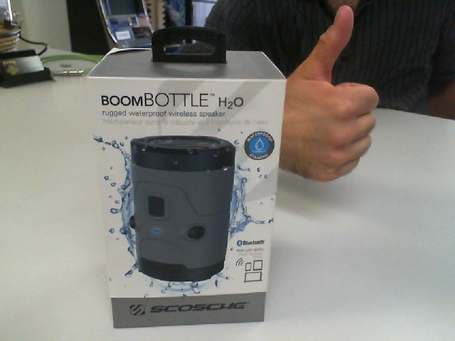SCOSHCE IPOD/MP3 Accessory BOOMBOTTLE H20