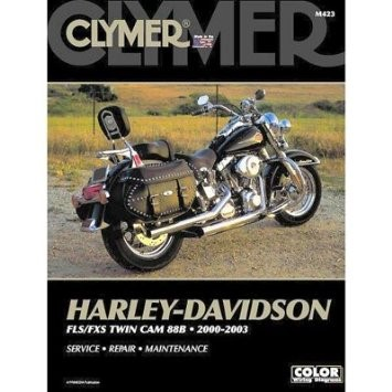 BIKERS CHOICE 700254 CLYMER MANUAL HD FLS/FXS TWIN CAM 88B, 95B, 103B 2000-2005