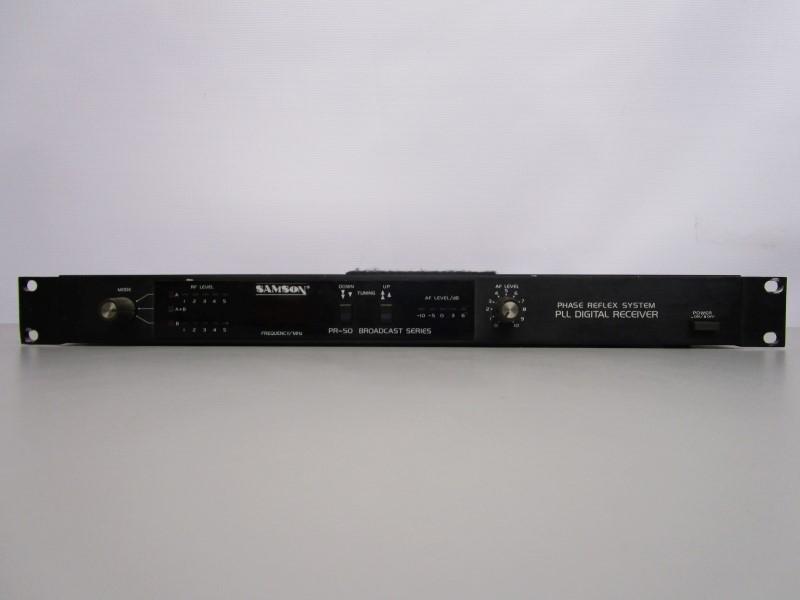 SAMSON PR-50 BROADCAST SERIES PHASE REFLEX SYSTEM, PLL DIGITAL RECEIVER