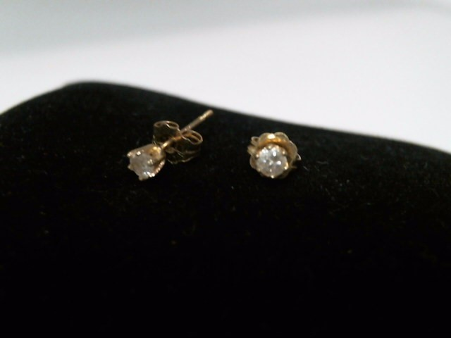Gold Earrings 14K Yellow Gold 0.4g