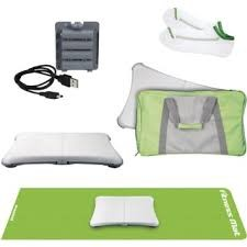 DGWII-1081; DREAMGEAR WII FIT 5-IN-1 FITNESS BUNDLE