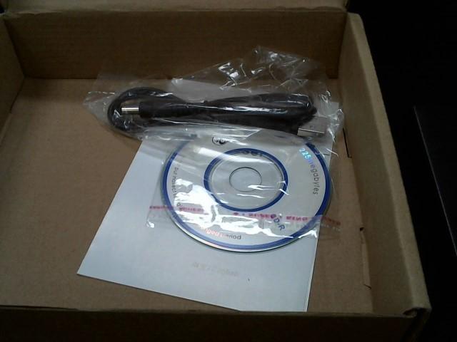 MICRO SOLUTIONS CD Player & Recorder 191210 EXTERNAL CD-RW DRIVE