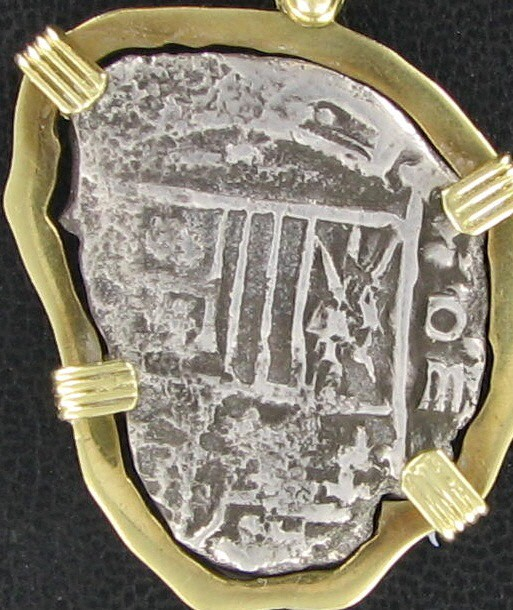NUESTRA SENORA DE ATOCHA Silver Coin 4 REALE