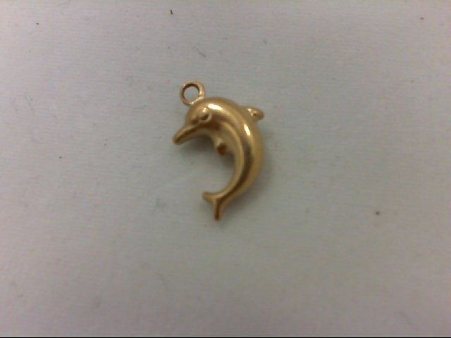Gold Charm 14K Yellow Gold 0.7g