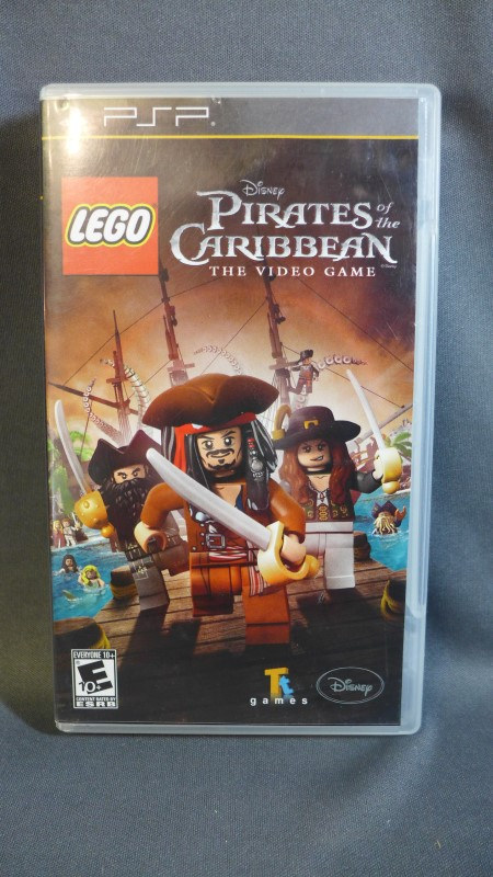 PSP GAME LEGO PIRATES OF THE CARIBBEAN THE VIDEO GAME