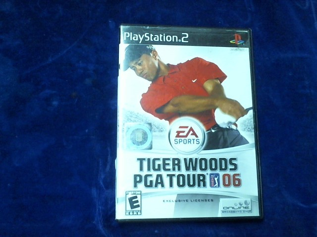 SONY Sony PlayStation 2 Game TIGER WOODS PGA TOUR 2006 -PS2