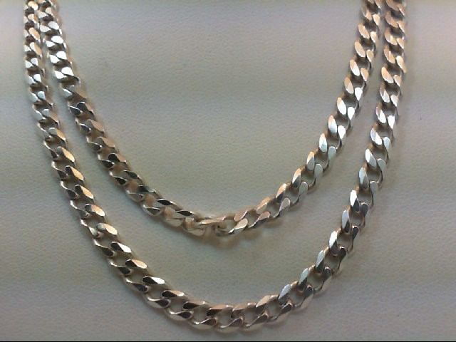 "24"" Silver Chain 925 Silver 20.3g"