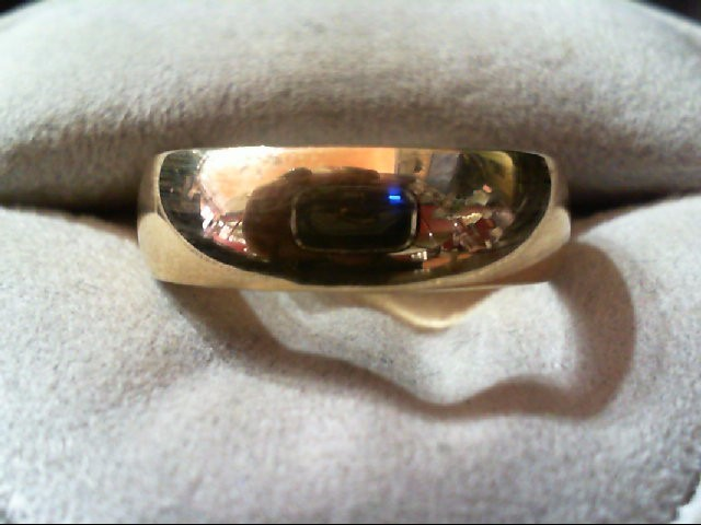 Gent's Gold Wedding Band 10K Yellow Gold 6.3g Size:9.3