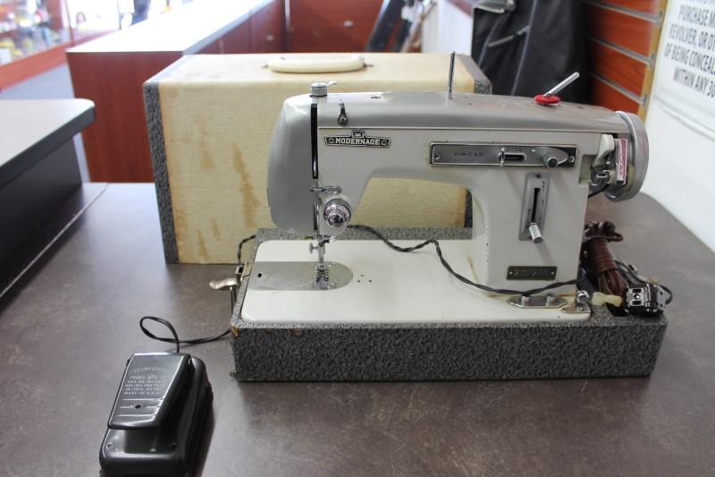SEWING MACHINE Embroidery Machine MODERN AGE MODERN AGE