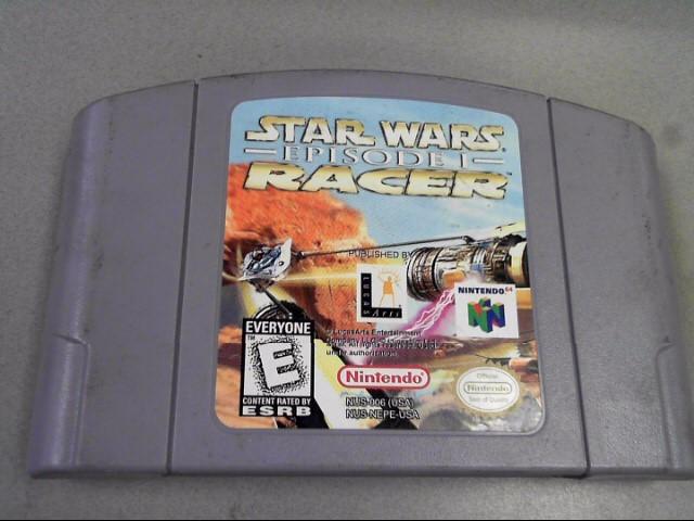 NINTENDO Nintendo 64 STAR WARS EPISODE 1 RACER