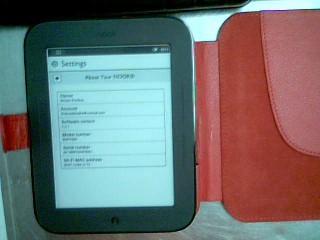 BARNES & NOBLE Tablet NOOK BNRV300