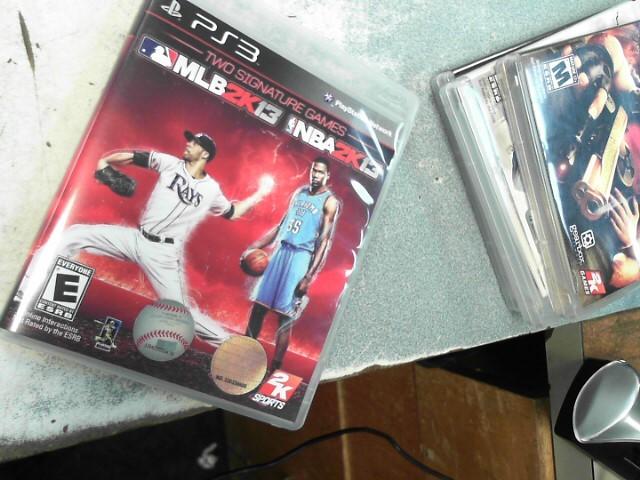 SONY Sony PlayStation 3 MLB2K13 AND NBA2K13