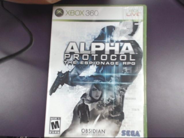 Alpha Protocol (Microsoft Xbox 360, 2010)