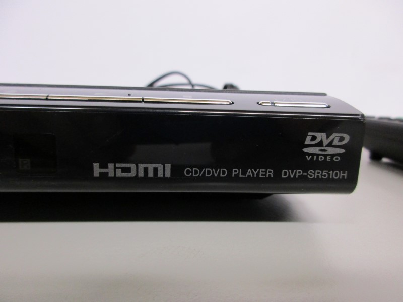 SONY DVD Player DVP-SR510H, 1080p, upscaling, HDMI