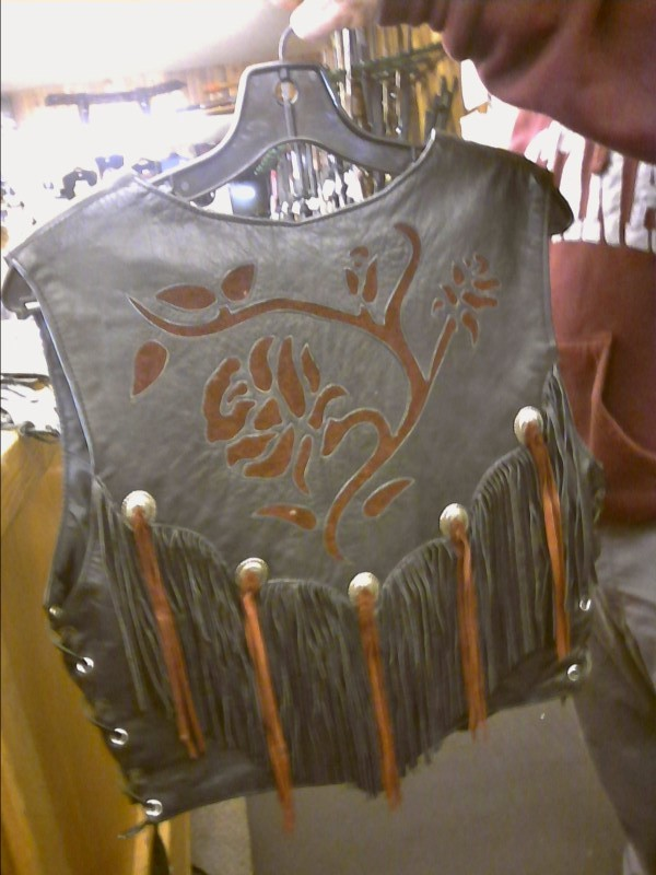 DALLAS LEATHER Clothing LEATHER VEST