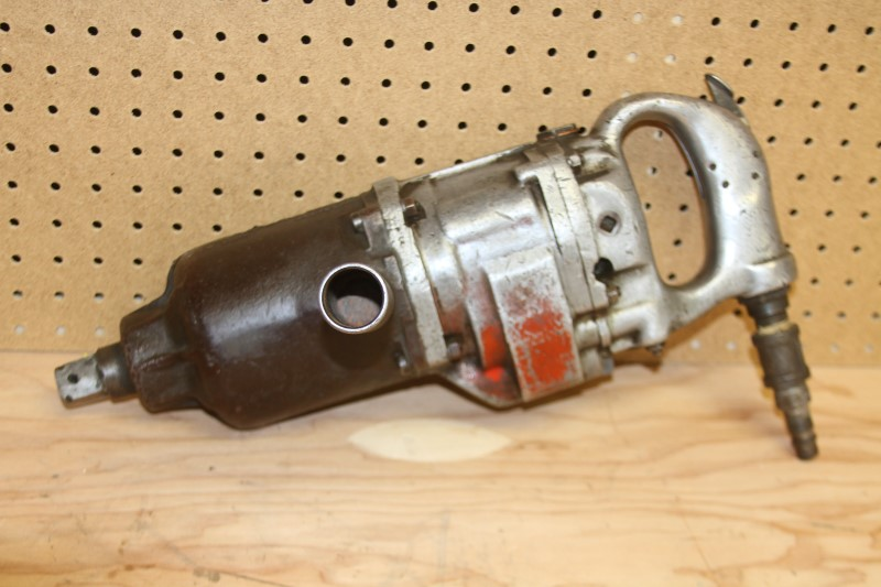 "Chicago Pneumatic 1-inch Impact Wrench Power-Vane 1"" VINTAGE"