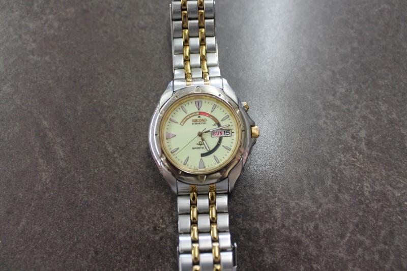 SEIKO Gent's Wristwatch KINETIC SPORTS 50