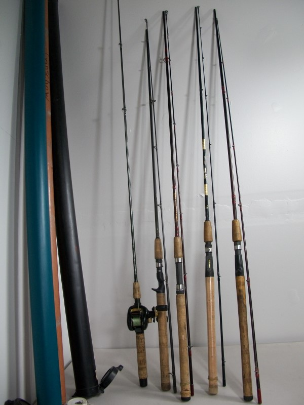 FISHING ROD TUBE HOLDER