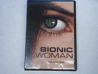 UNIVERSAL STUDIOS DVD BIONIC WOMAN VOLUME ONE