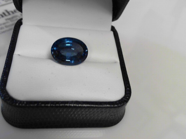 11.18cts Blue Zircon Oval Color Stone