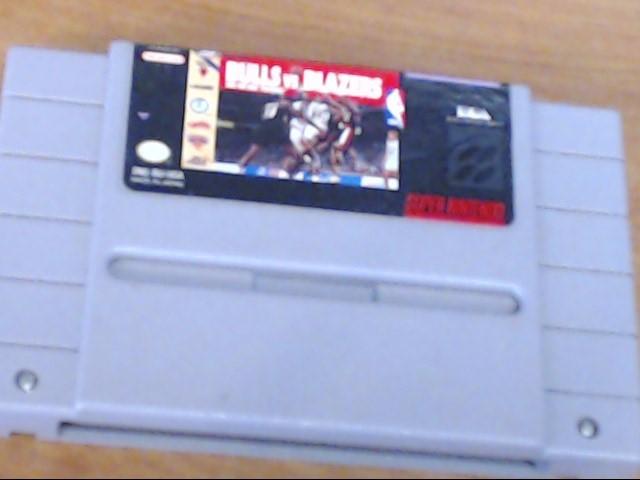 NINTENDO Nintendo SNES BULLS VS BLAZERS SNES