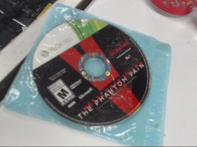 MGS V PHANTOM PAIN XBOX 360