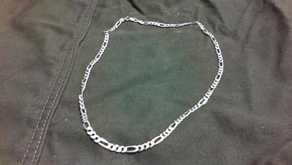"""25"""" Silver Chain 925 Silver 17.6dwt"""