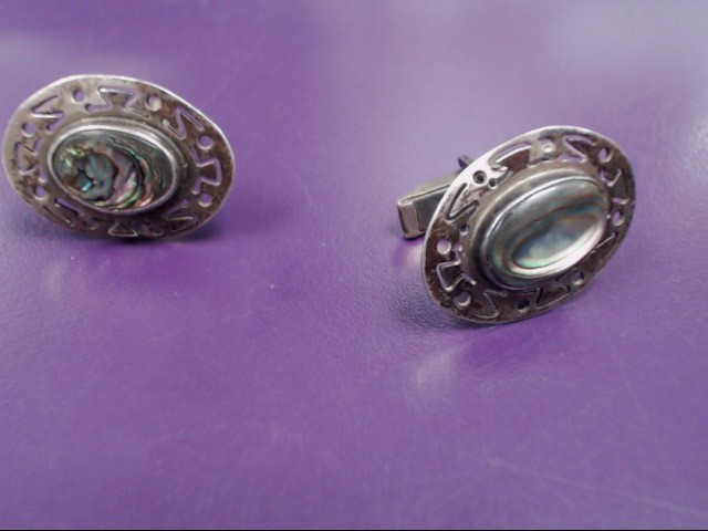 Antique Silver Cuff Links 925 Silver 11.8g