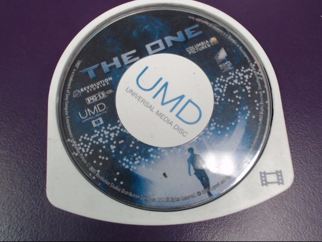 Sony Playstation Portable PSP UMD Movie The One