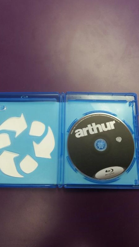 BLU-RAY MOVIE ARTHUR