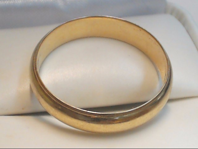 Gent's Gold Wedding Band 14K Yellow Gold 4.2g Size:10.5