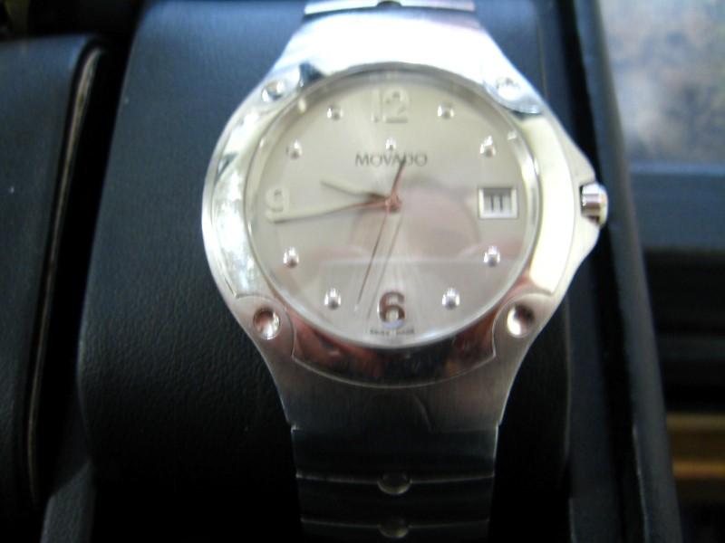 MOVADO Gent's Wristwatch 84.G1.1892 SPORTS EDITION SS