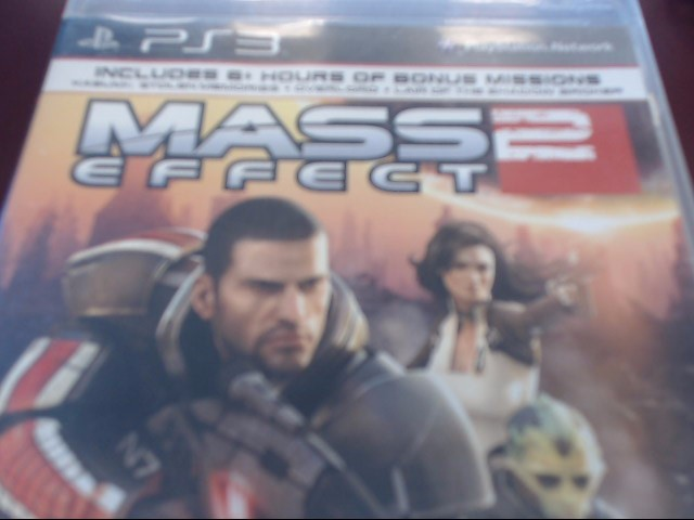 SONY PS3 MASS EFFECT 2