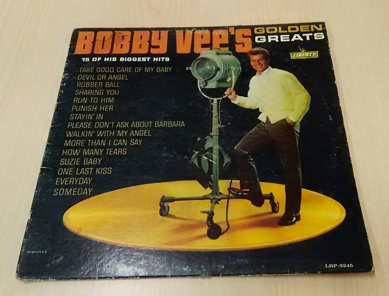 Bobby Vee's Golden Greats Vinyl record