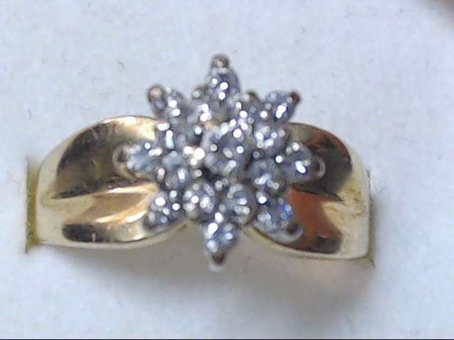 DIAMOND CLUSTER RING JEWELRY, 14