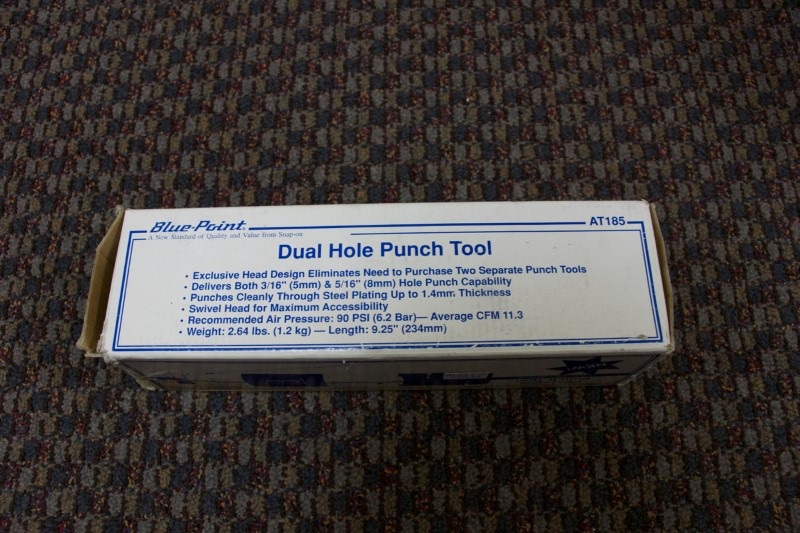 BLUE POINT DUEL HOLE PUNCH TOOL AT185