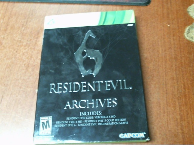 MICROSOFT Microsoft XBOX 360 Game RESIDENT EVIL 6 ARCHIVES