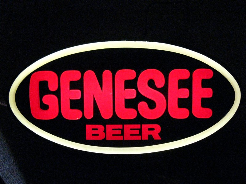 GENESEE BEER SIGN