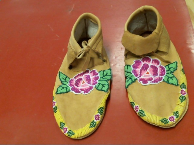 HAND MADE MOCCASINS