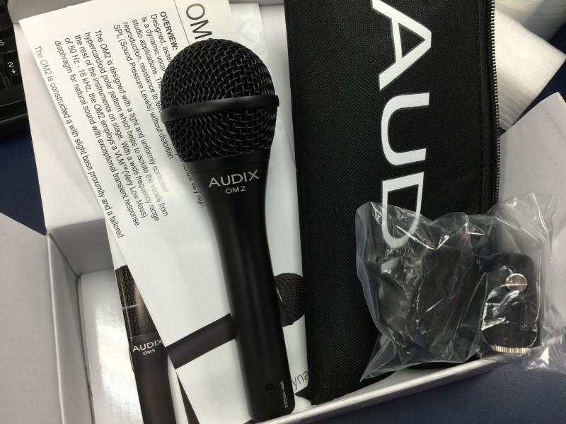 AUDIX Microphone OM-2