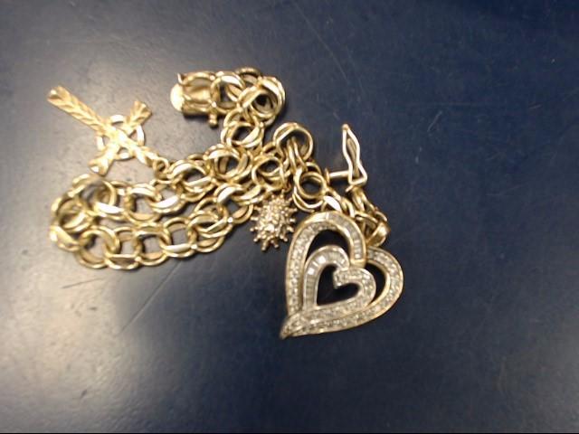 Gold Fashion Bracelet 14K Yellow Gold 11.56dwt