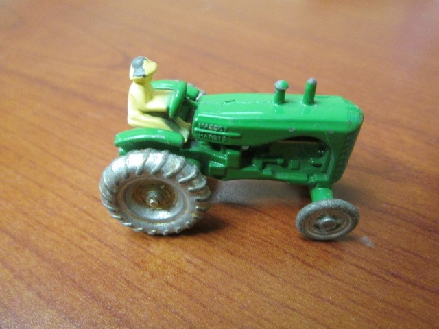 MATCH BOX TRACTOR 1950'S VINTAGE