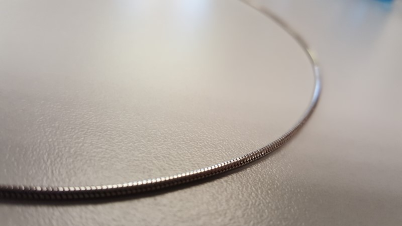 "18"" Silver Chain 925 Silver 7.5g"