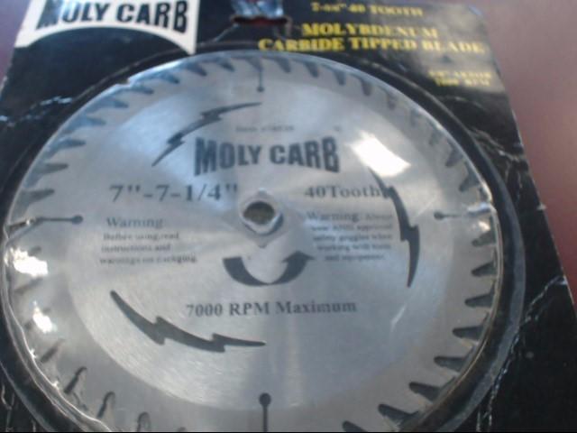 MOLYCARB Circular Saw 38535 SAW BLADE