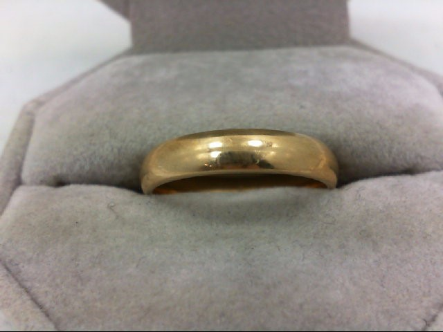 Gent's Gold Ring 10K Yellow Gold 4.1g Size:8