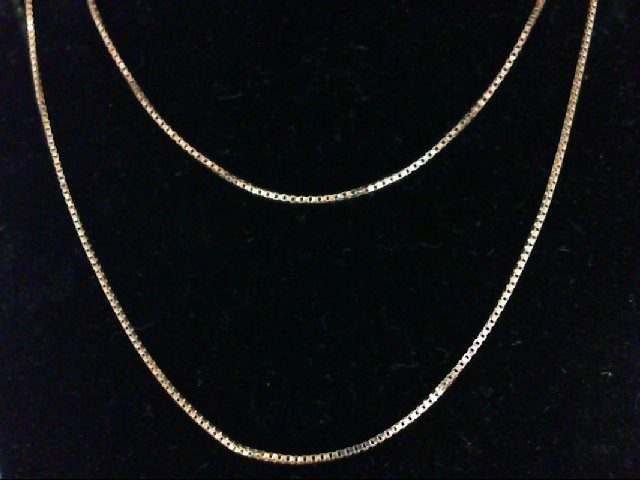 "20"" Gold Chain 18K Yellow Gold 1.2g"