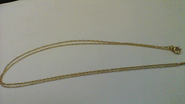 """20"""" Yellow Gold 14K Chain Necklace YG"""