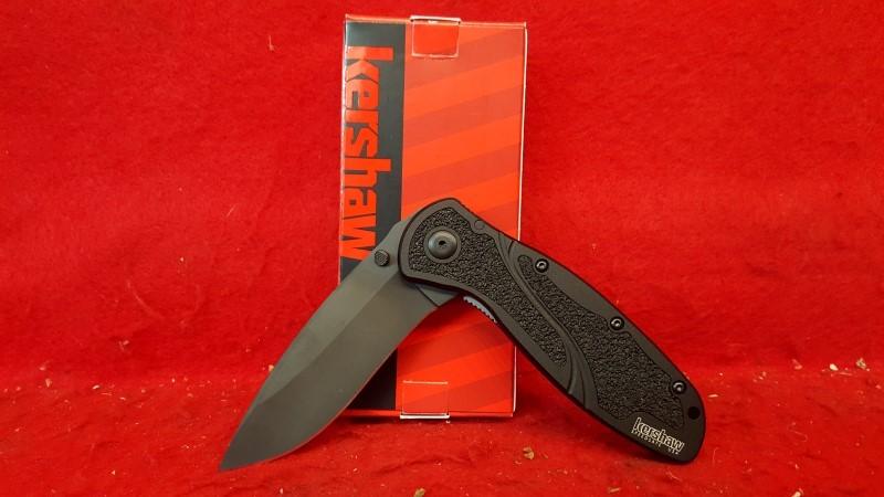 KERSHAW Pocket Knife 1670BLK BLUR BLACK FOLDER