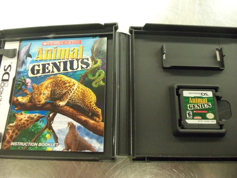 NINTENDO Nintendo DS ANIMAL GENIUS